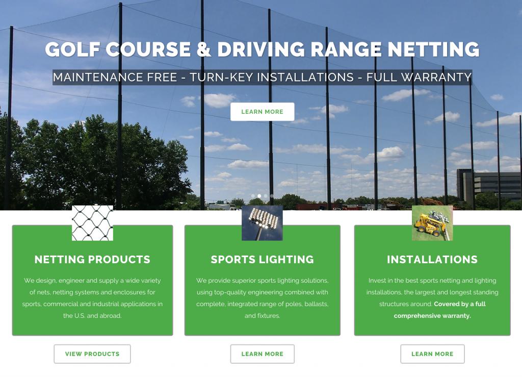 Homepagescreenshot 2 Grn Golf Range Netting
