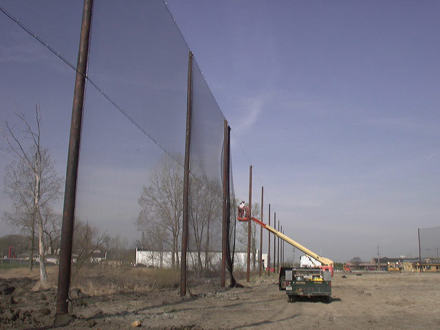 Golf Barrier Netting System