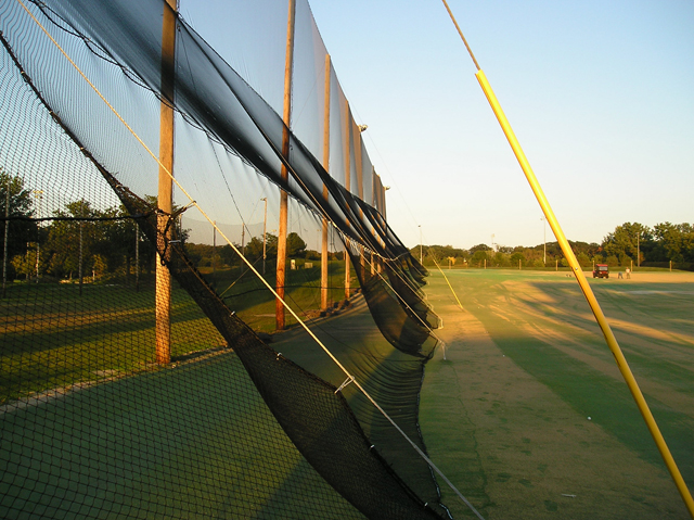 Slant Netting Driving Range