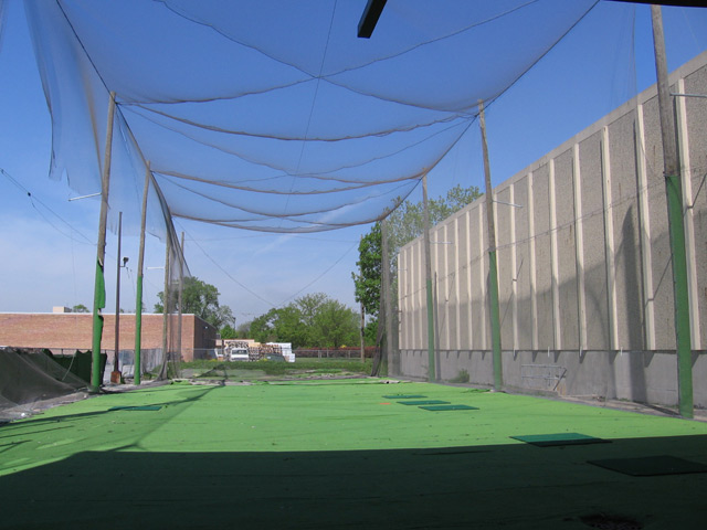 Enclosed Driving Range Impact Netting Niles Park