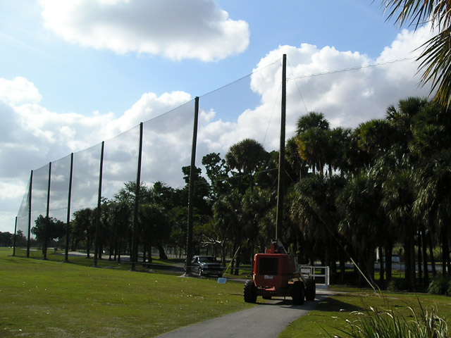 Professional Golf Netting