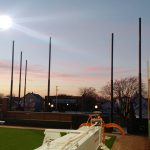 Baseball Field Netting Installation in Indiana
