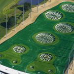 Golf Driving Range Barrier Netting TopGolf Wood Dale