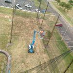 50-foot High Custom Netting Enclosure