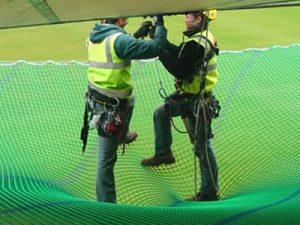 Construction Netting Applications