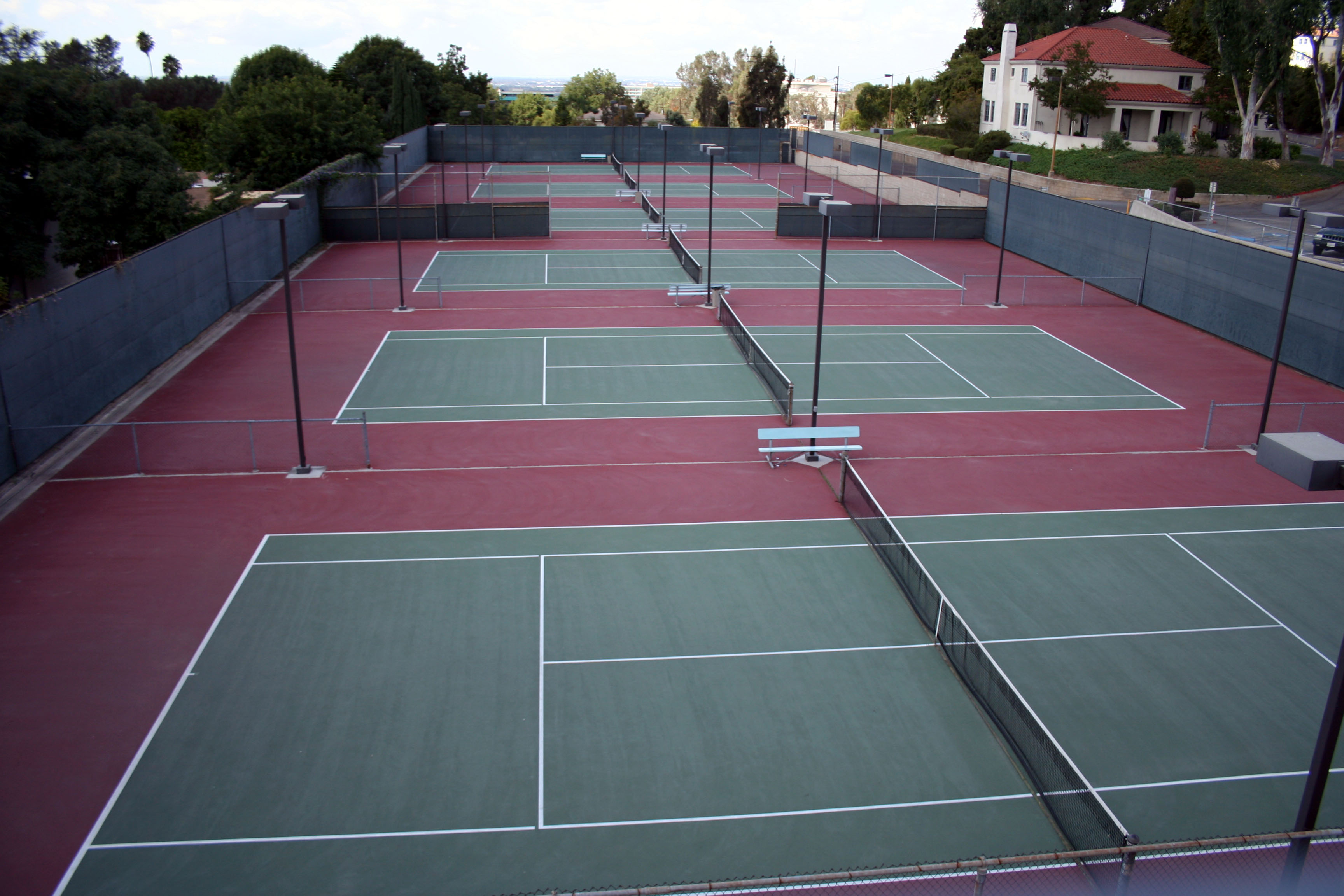 Tennis Court Barrier Netting