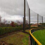40 feet high baseball netting