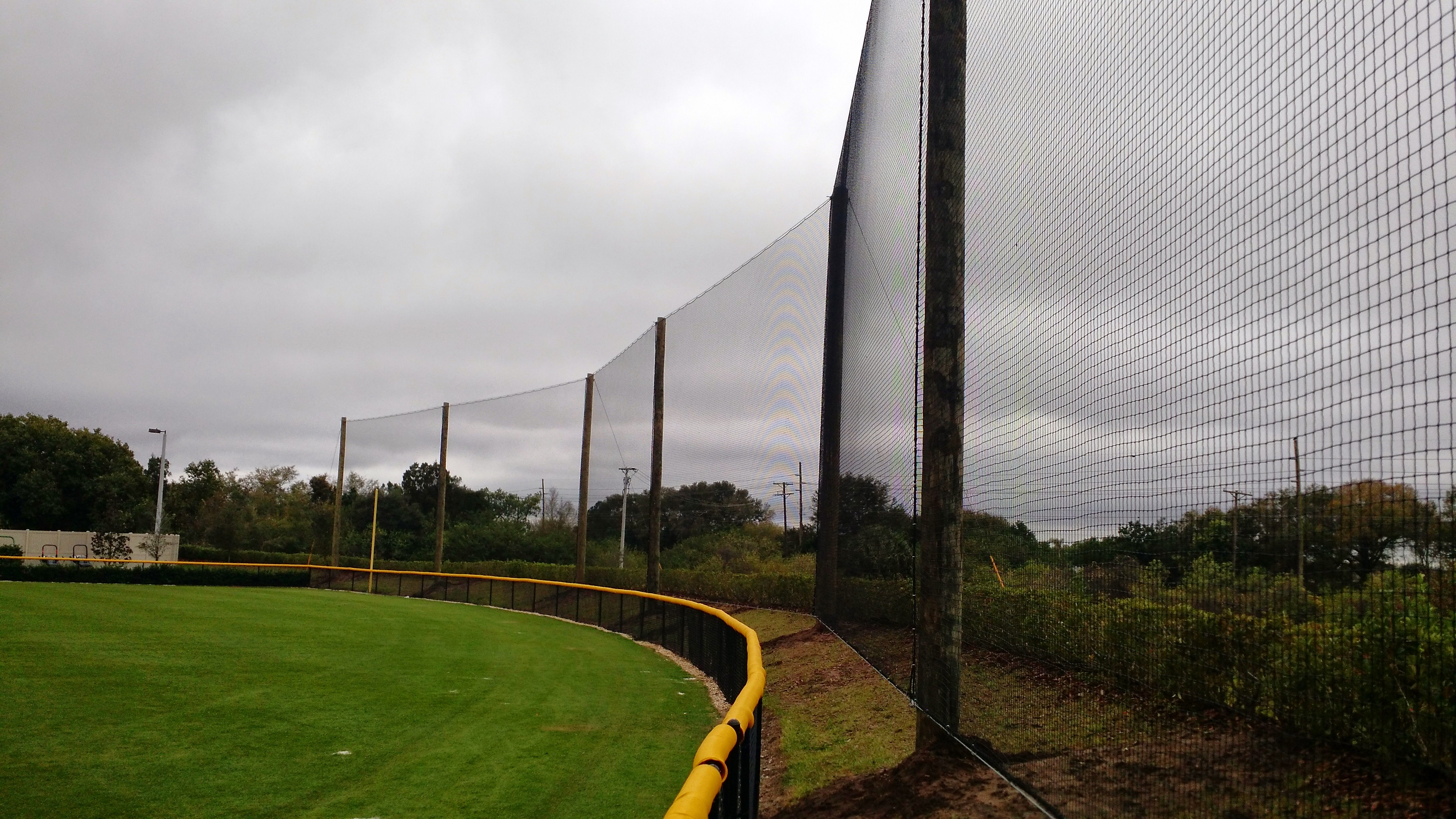 40 foot high sports netting