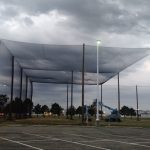 Enclosed Netting Structure at K-State