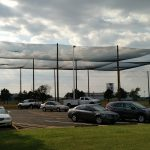 Complete Installation of Netting Enclosure