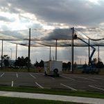 Kansas State Netting Enclosure