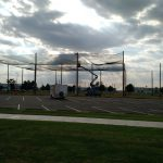 Completing Enclosed Netting Construction