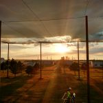 Kansas State Sunset View from UAV Pavilion