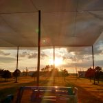 Sun Setting on K-State UAS Pavilion
