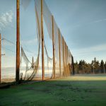 Weather Damaged Golf Netting