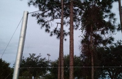 Custom Baseball Netting Install