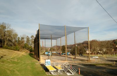 Drone Enclosed Netting Structure
