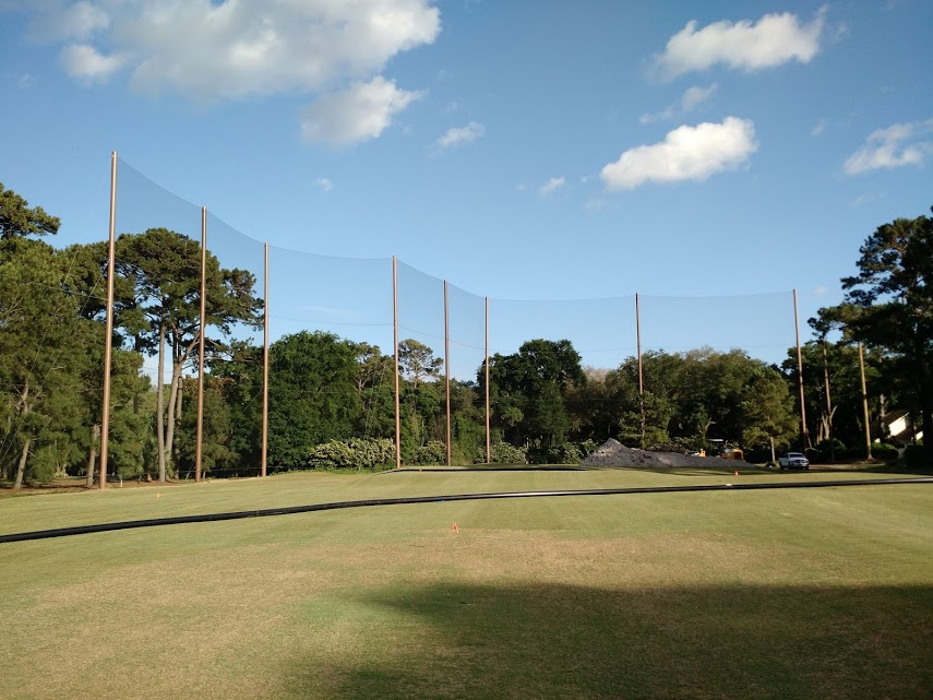 Golf Course Barrier Net Design