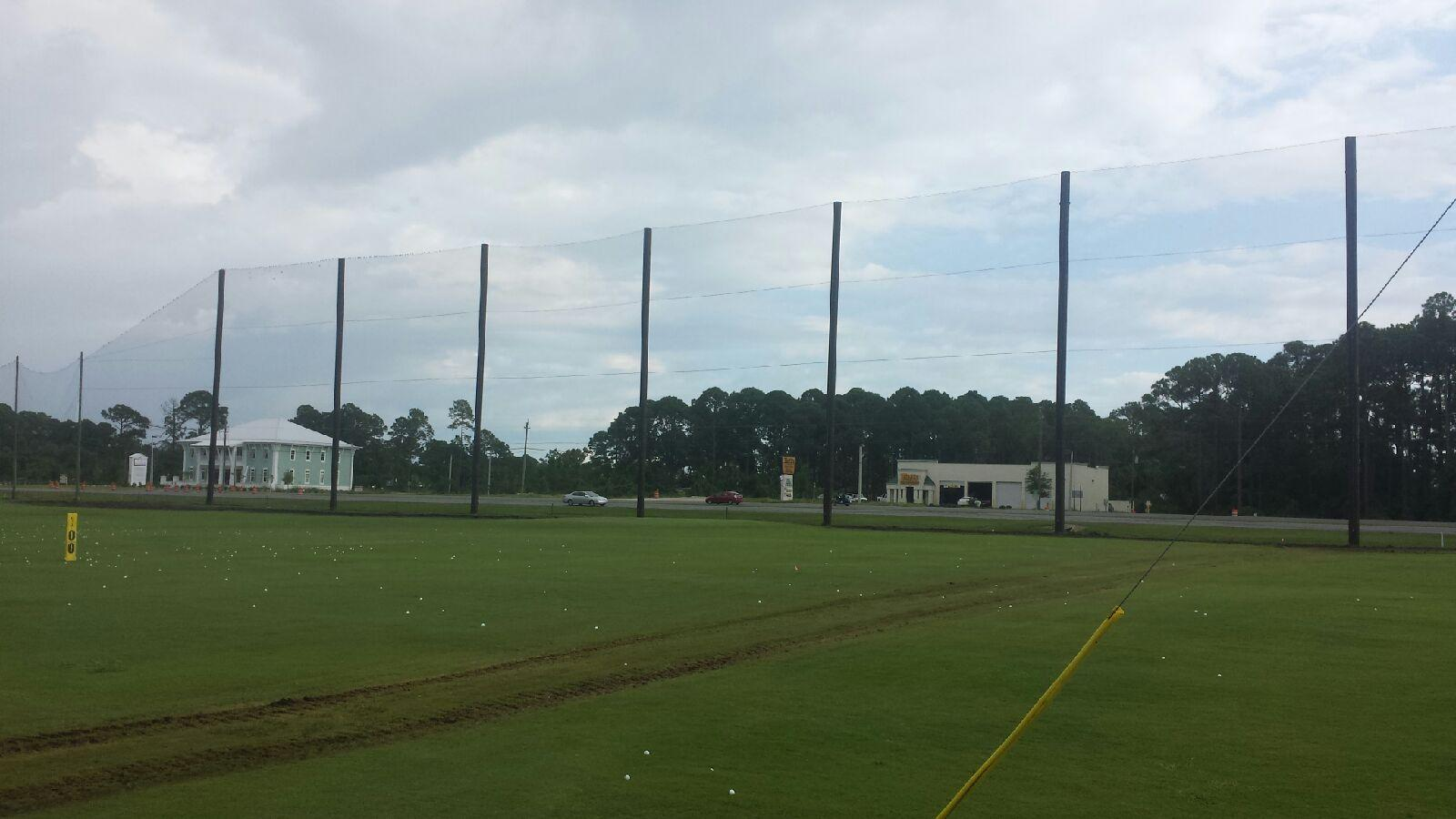 Barrier Netting Replacement for Golf Course