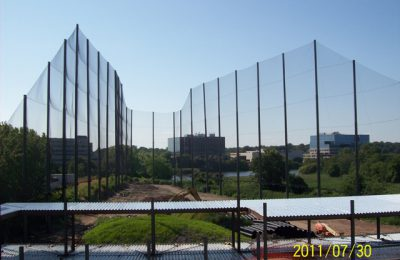 Completed Barrier Net Installation
