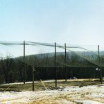 Custom Enclosed Batting Cage Netting Structure