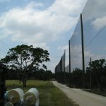 Driving Range Barrier Net