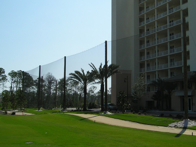 Parking lot Barrier Netting