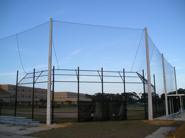 Baseball Field Amp Backstop Netting Mainland Hs Daytona