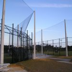 Baseball Backstop Netting System