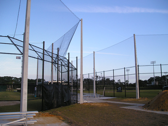 FOUL BALL NETTING