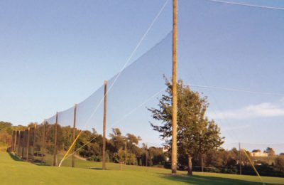 Golf Club Barrier Netting