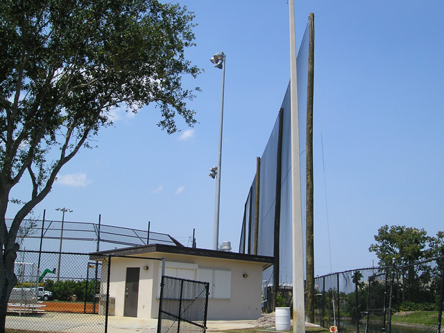 Retractable Sports Netting System Palm Beach Lakes Hs