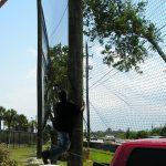 Maintenance-Free Baseball Netting