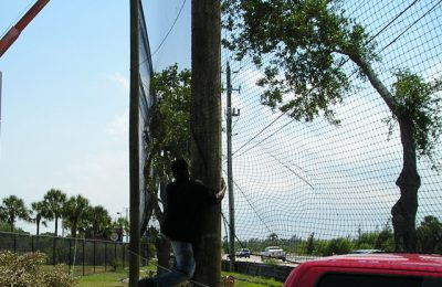 Maintenance-Free Baseball Netting