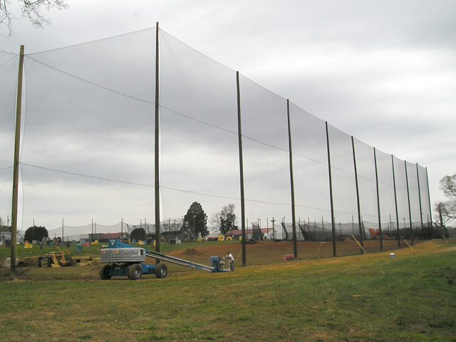 Golf Barrier Net System