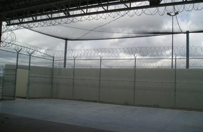 Contraband Barrier Netting