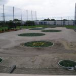 TopGolf Driving Range Barrier Netting