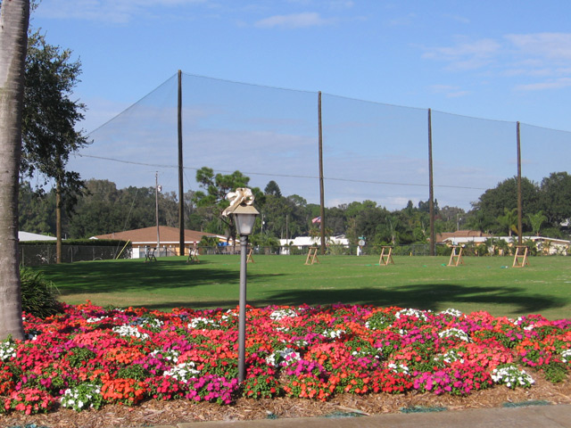 Golf Course Barrier Netting