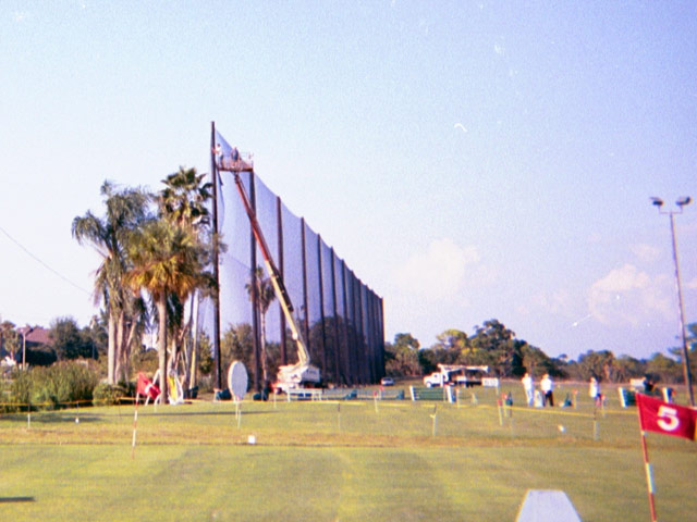 Protective Golf Barrier Netting