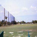Golf Barrier Netting Install