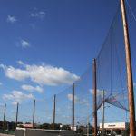 High School Field Baseball Netting