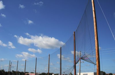 High School Field Baseball Netting