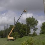 Tampa Palms Barrier Netting Install