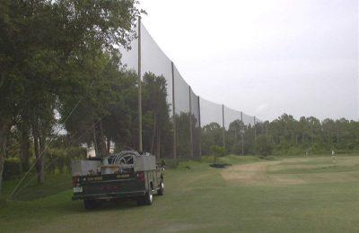 Tampa Palms Golf Netting Installation