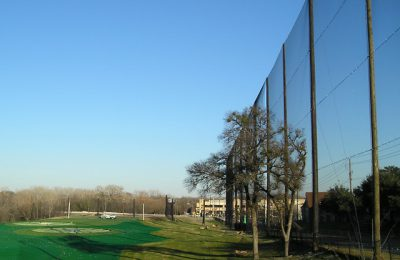 TopGolf Barrier Netting Installation