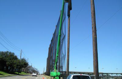 Sports Netting Installation TopGolf Dallas TX