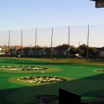 TopGolf Driving Range Netting Installation
