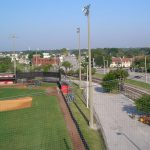 Baseball Field Netting Installation