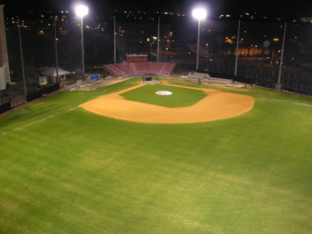 University of Tampa Baseball Field Lights