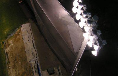 Baseball Field Lights Nighttime